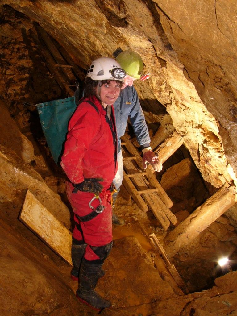 Exploring old mine workings