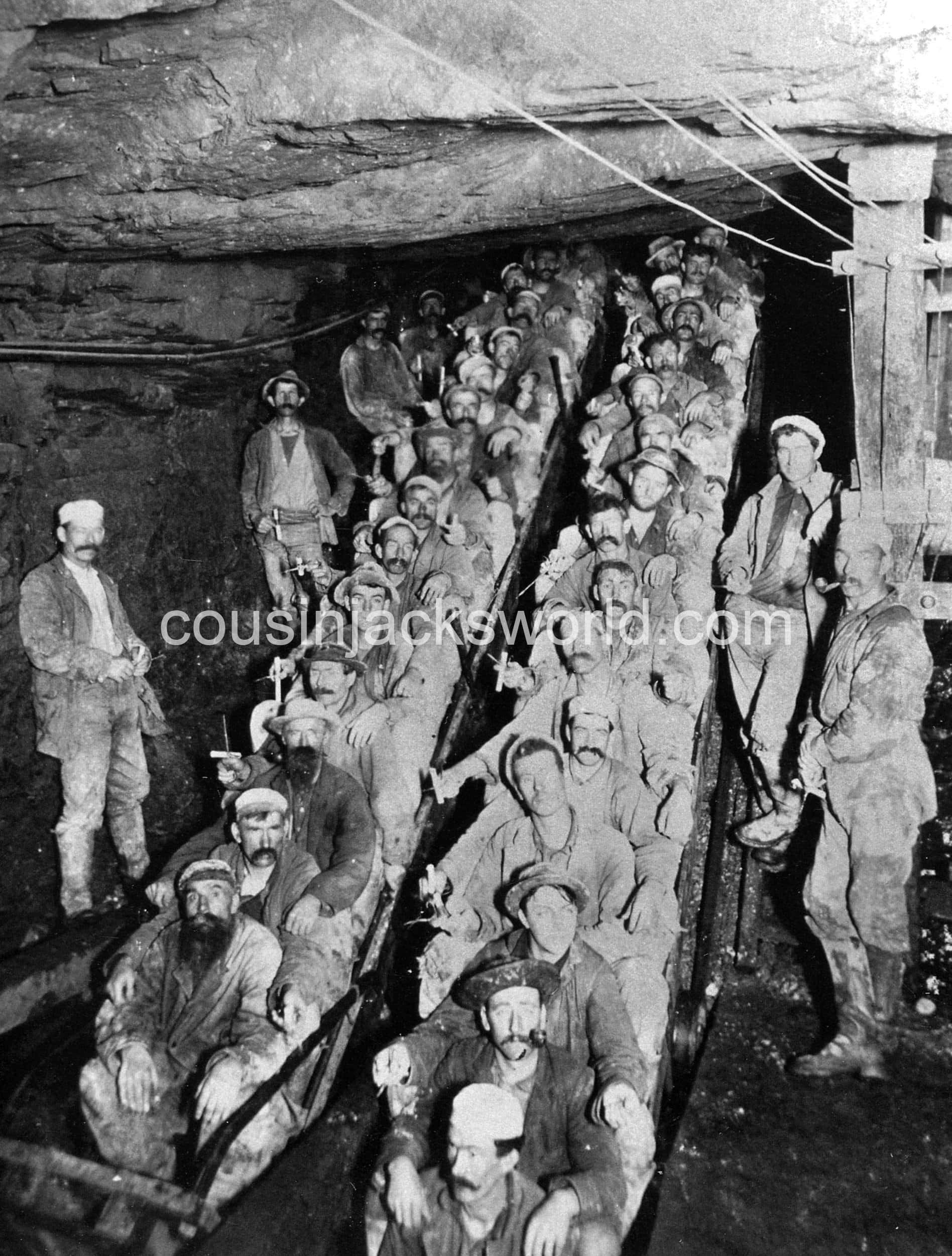 Empire Mine, Grass Valley, California. America's foremost town for Cornish mining migration