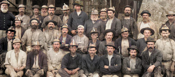 Lots of Cornish miners migrated to work in the Moonta Mine, Australia