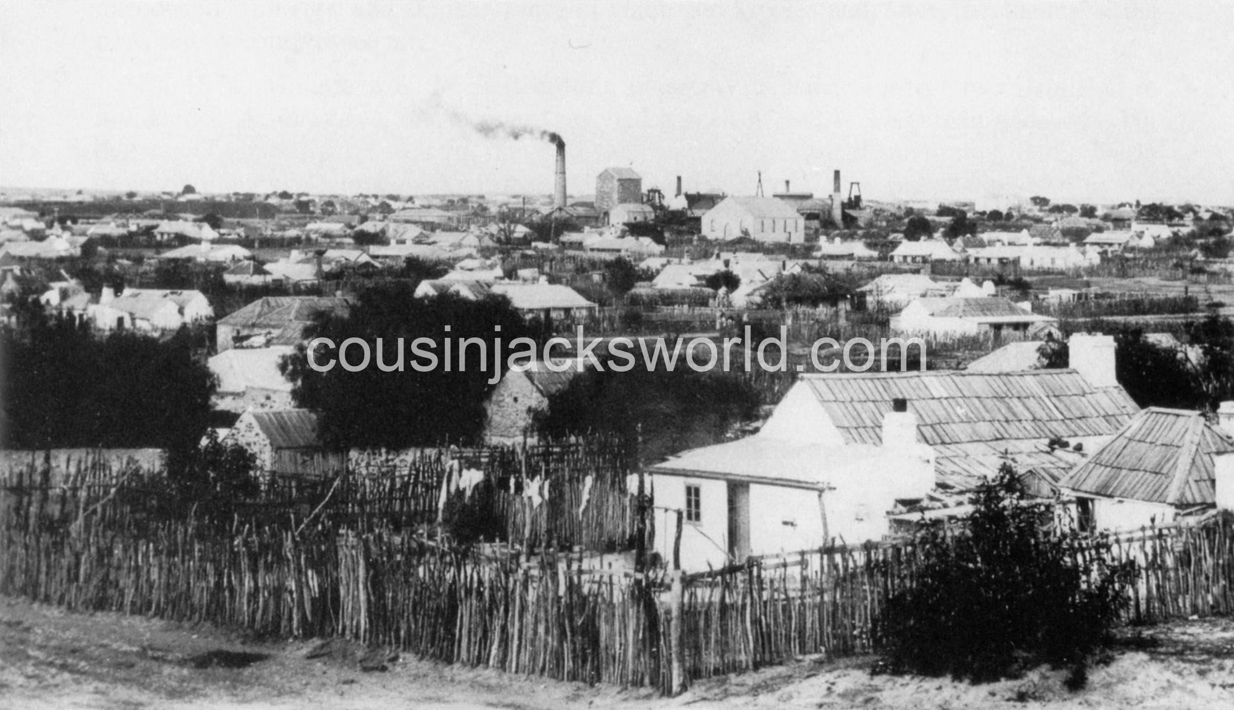 Moonta Mines, South Australia. Cornish mining migration to Australia's Little Cornwall